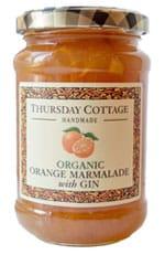 Victoria Plum Jam Organic Orange Marmalade with Gin 340g