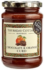 Chocolate & Orange Flavour Curd 310g