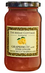 Grapefruit & Stem Ginger Medium Cut Marmalade 454g