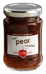 Hot Pear Chutney 112g