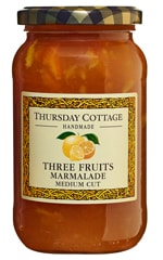 Three Fruits Medium Cut Marmalade 454g