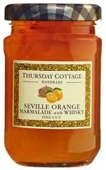 Seville Orange Fine Cut Marmalade with Whisky 112g